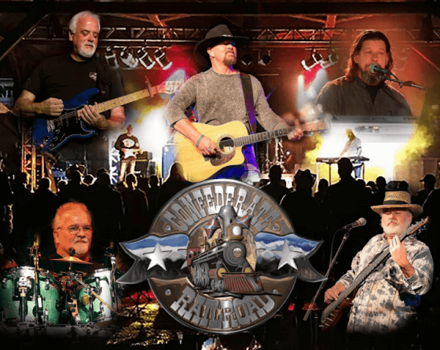 Confederate Railroad playing Fulton County Fairgrounds in Lewistown, Metamora Herald