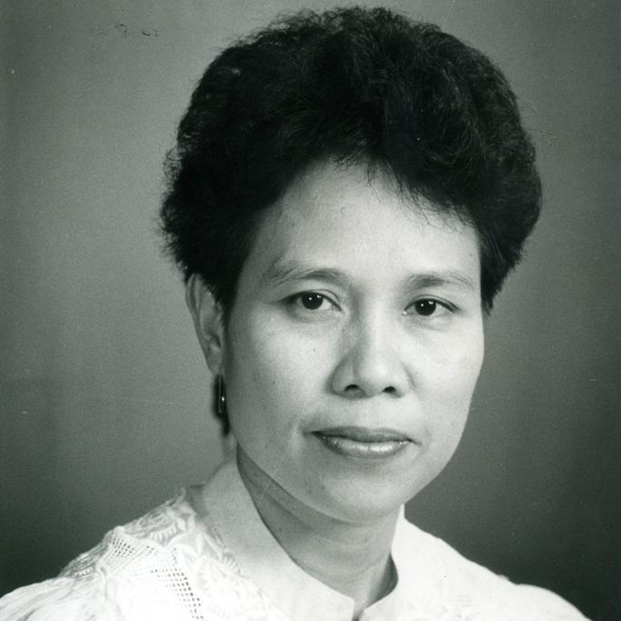 Former Senator Miriam Defensor-Santiago.