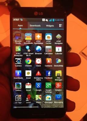 Harga dan Spesifikasi HP LG Optimus G Pro Tahun Ini Kamera 13 MP