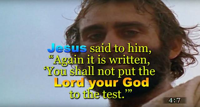 Matthew 4:7