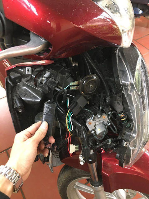 Thiết bị định vị xe máy giá rẻ tại tp. HCM