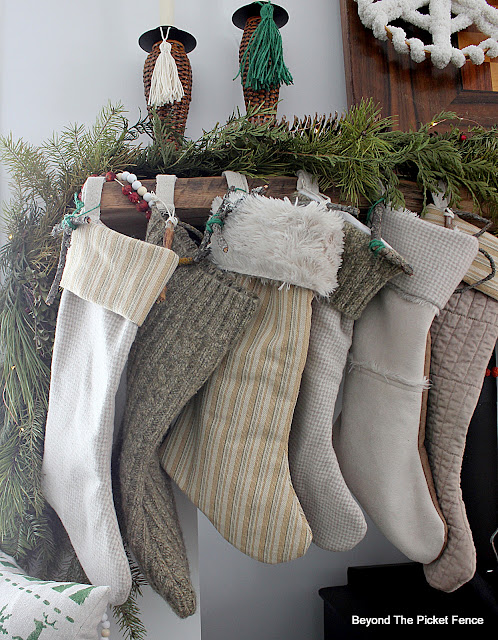 Use Thrift Store Clothes and Linen for Stockings