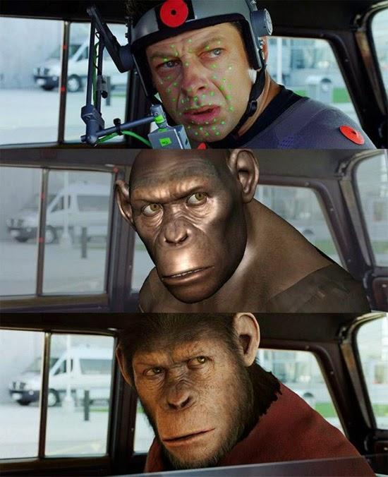 Planeta dos Macacos com macaco de verdade?
