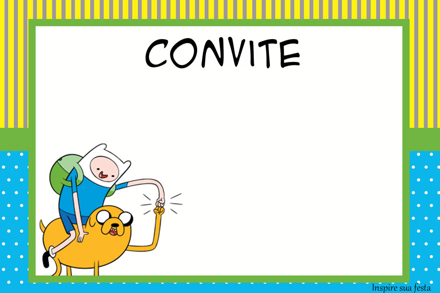 Adventure Time Party Free Party Printables Invitations and Candy