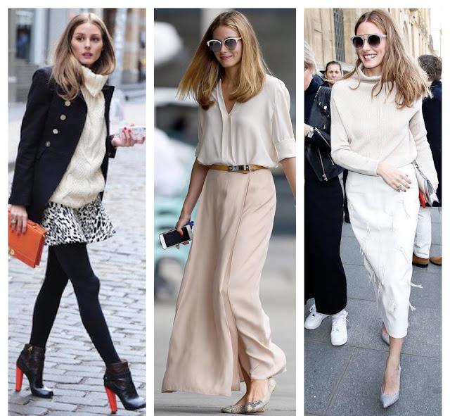 Moje modowe inspiracje kto mnie inspiruje inspirować się jak znaleźć swój styl szukać inspiracji gdzie moda blogerka modowa bloggerka Olivia Palermo