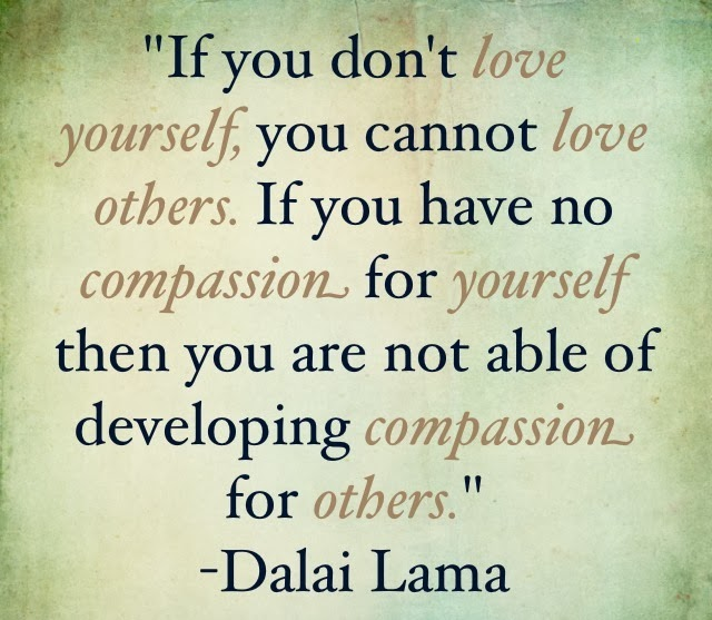 Love Yourself Only Then Others Will Love You