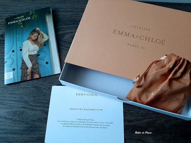Bulles de Plume box bijoux L'Atelier Emma&Chloé de Juin 2020