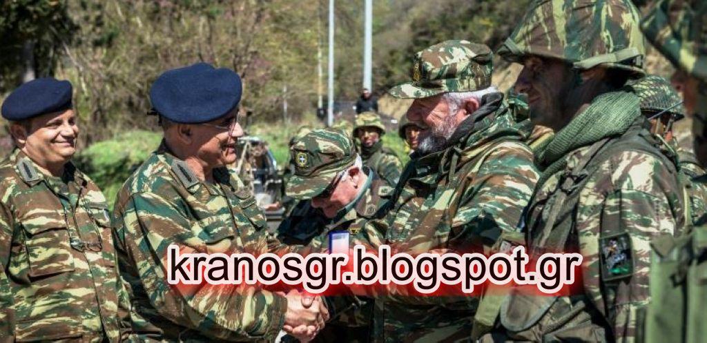 ΠΑΡΜΕΝΙΩΝ 2018: ''Έβρεξε φωτιά και ατσάλι από τους Εθνοφύλακες στα Ελληνοαλβανικά σύνορα παρουσία του Στρατηγού Ζερβάκη''