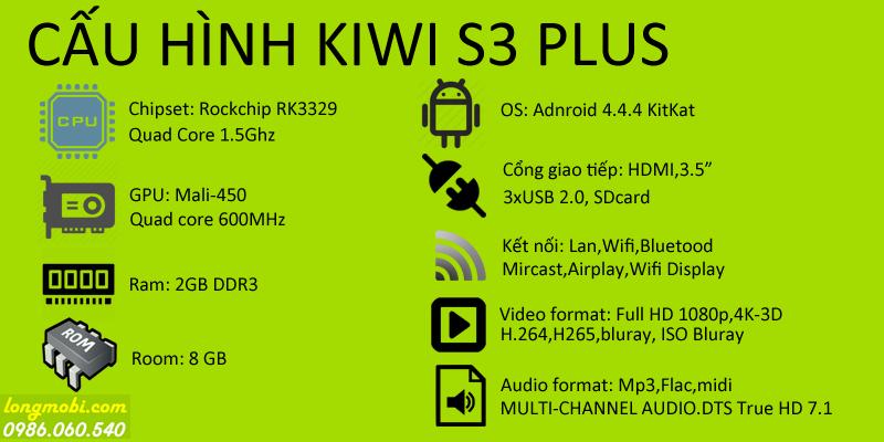cấu hình android tv box s3lus