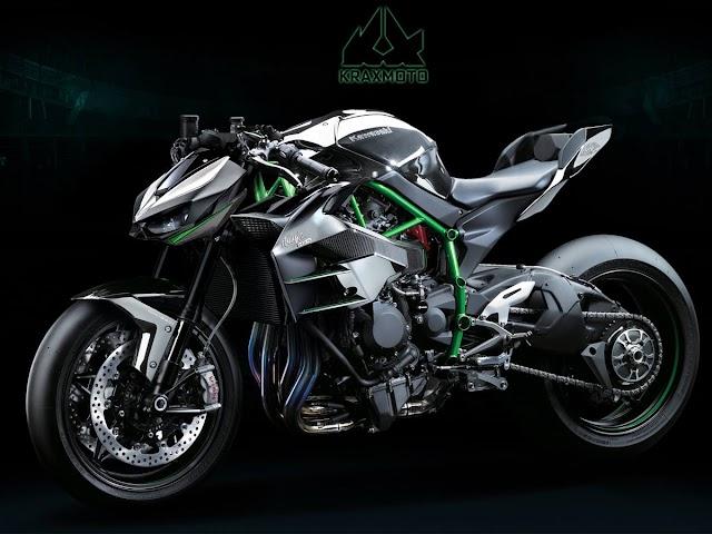 Kawasaki Rilis Teaser Kedua untuk Ultimate Z, Naked H2 dengan Supercharger?