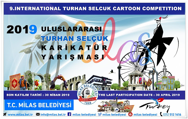 9th International Turhan Selcuk Cartoon Competition 2019