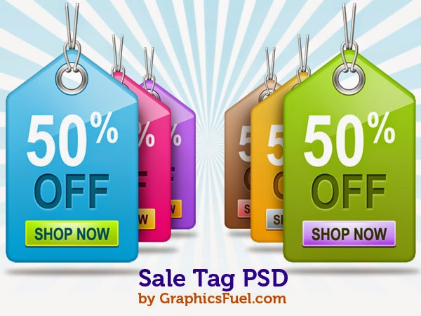 Sale Tag PSD Pack