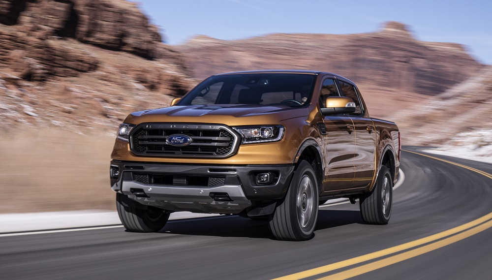 2019 Ford Ranger rated most fuel-efficient midsize pickup in America