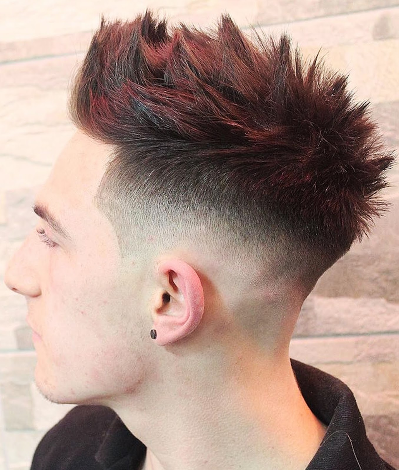 Excellent Top 6 Mens Fade Hairstyles Hairstyles Spot Short Hairstyles Gunalazisus