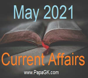 May Current Affairs 2021 PDF Free Download in Hindi