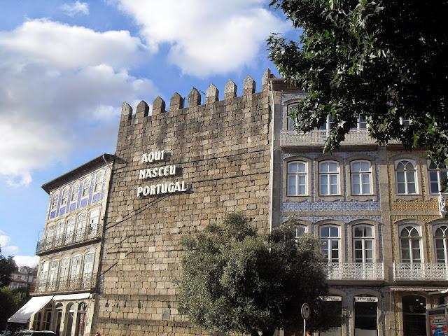 Guimaraes, aquí nació Portugal
