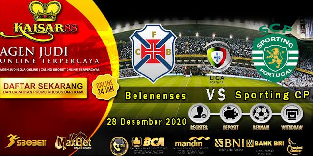 Prediksi Bola Terpercaya Liga Portugal Belenenses vs Sporting CP 28 Desember 2020