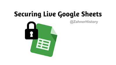 google sheets security