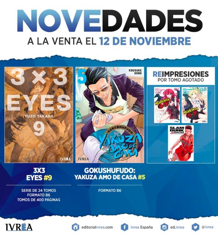 Novedades Ivrea 12 de noviembre 2020