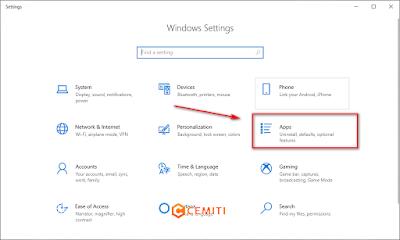 Mematikan Aplikasi Startup di Windows10