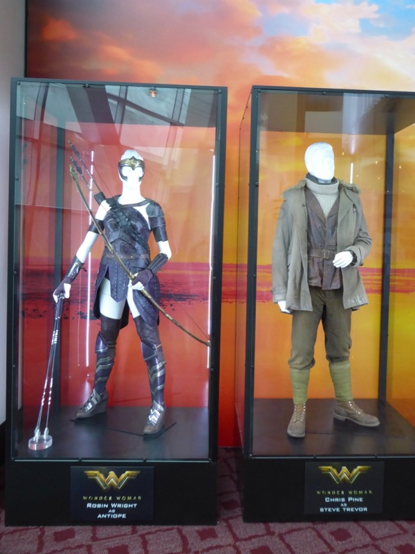 Antiope Steve Trevor Wonder Woman movie costumes