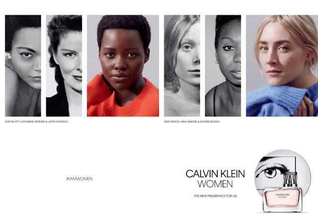 Reklama perfum Calvin Klein Women