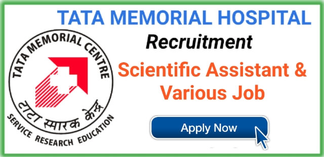 Scientific Assistant job at Tata Memorial Centre - TyroPharma