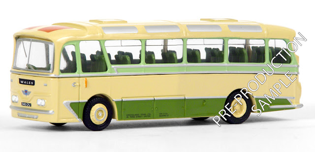 Exclusive First Editions: 12124 - Harrington Cavalier – Greenslades Registration number 540 CFJ. En route to Wales. Scheduled for a May release RRP £34.50