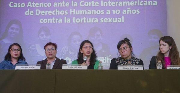Mujeres denuncian ante CIDH abusos de la policía de México