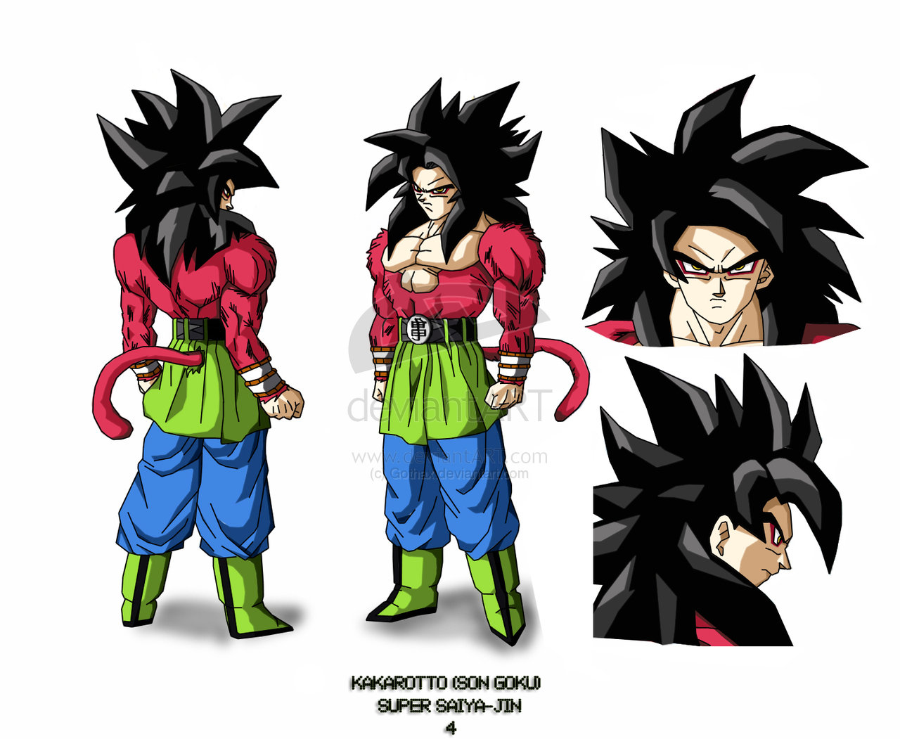 Goku Y Todas Sus Fases: Dragon Ball AF: Goku En Todas Sus Fases AF