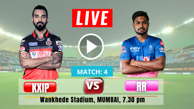 Rajasthan Royals (RR) vs Kings XI Punjab (KXIP):  4th Match IPL 2021, Rajasthan Royals opted to field, check out the Playing XI