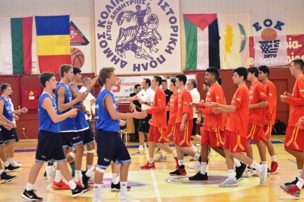Η Ισπανία το 3ο Διεθνές Κύπελλο U14. Στην καλύτερη πεντάδα Πετανίδης και Βούκτσεβιτς