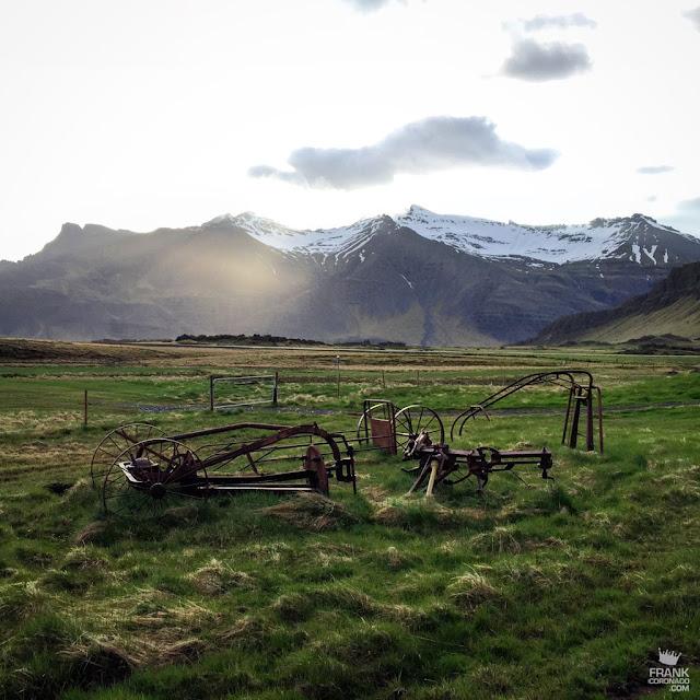 Paisaje de Vangstadir Islandia