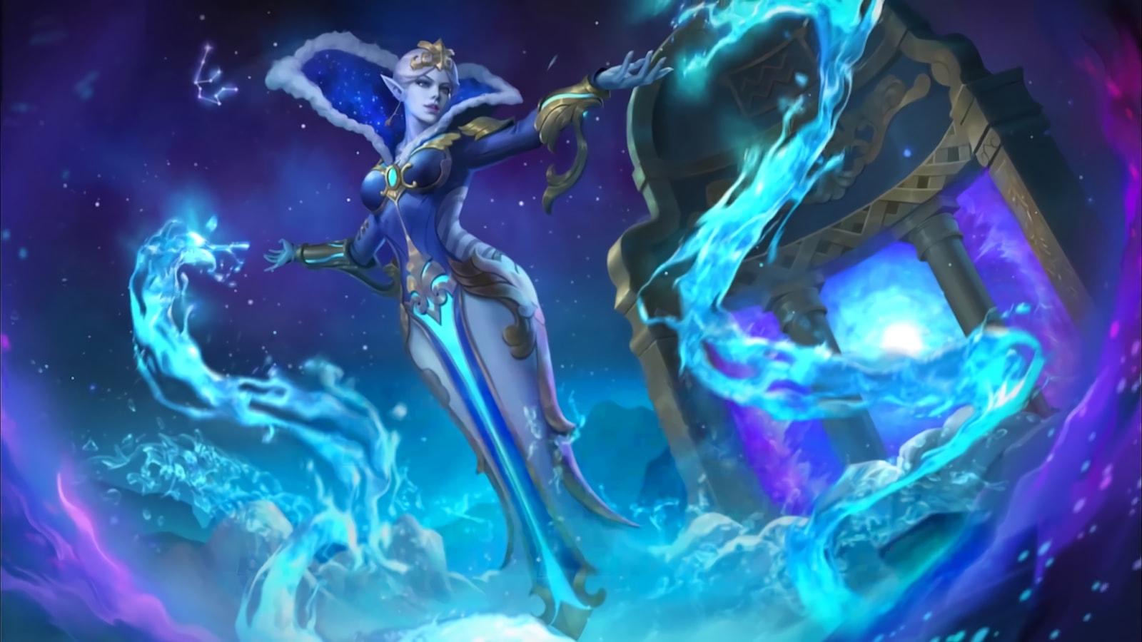 Wallpaper Aurora Aquarius Skin Mobile Legends HD for PC