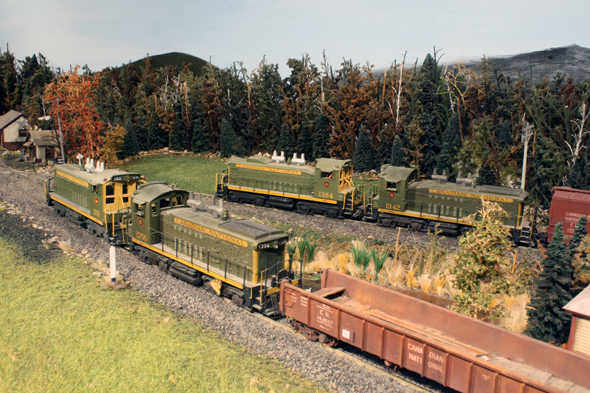 White River Division: SW1200RS Models: A Changing of the Guard