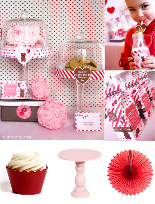 DIY Valentine's Day Party Ideas - BirdsParty.com