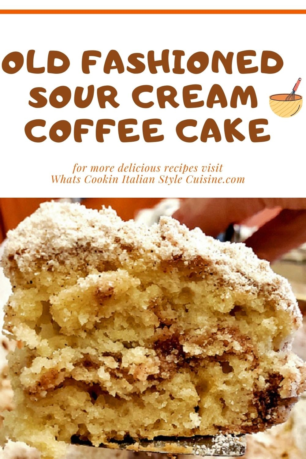 this is a pin for later how to make homemade coffee cake from scratch