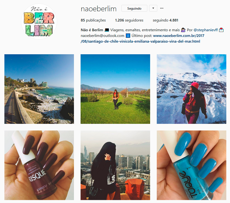 Top 10 Instagrammers Travel Bloggers para seguir Indicações Dicas Instagram Pictures Photos Viajante Travelblogger Stephanie Vasques Viagens Não é Berlim blog naoeberlim
