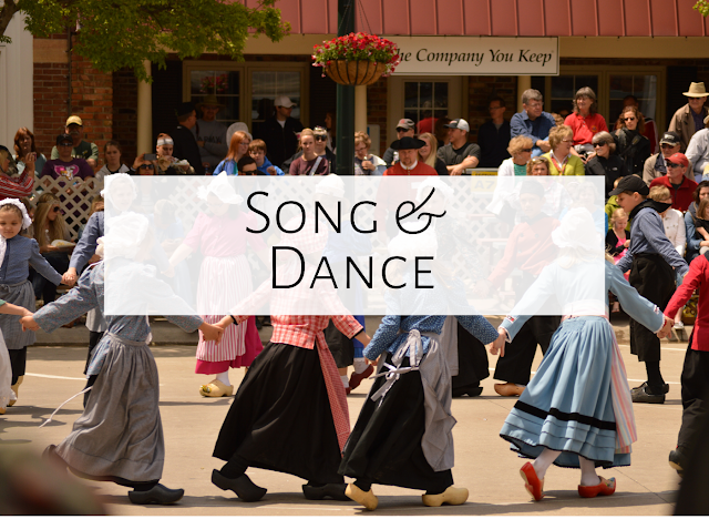 Song and dance {Three great activities for your older students}