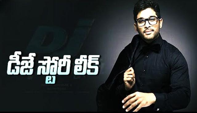 Duvvada Jagannadham (DJ) Movie Story Leaked
