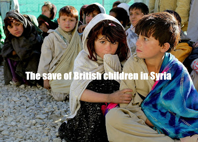 The save of British children in Syria
