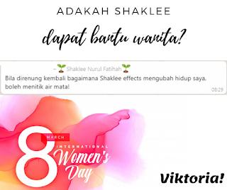 Hadiah Untuk Wanita Tersayang : Set Kesihatan Wanita Shaklee