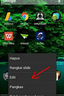 Ubah image di android