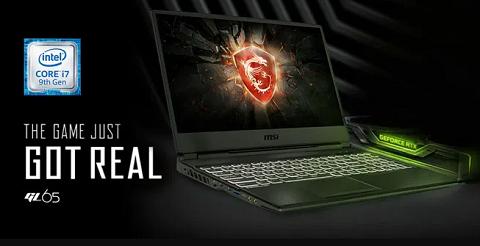 Spesifikasi Laptop Gaming MSI GL65 Yang Ciamik dan Hemat Anggaran