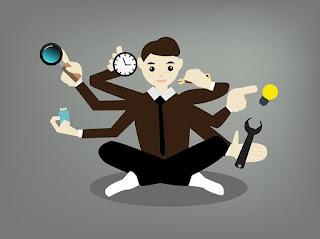 tutorial cara multitasking agar tidak ribet