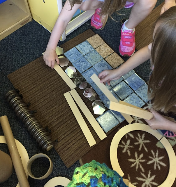 kindergarten children given choices about learning materials and how to use them