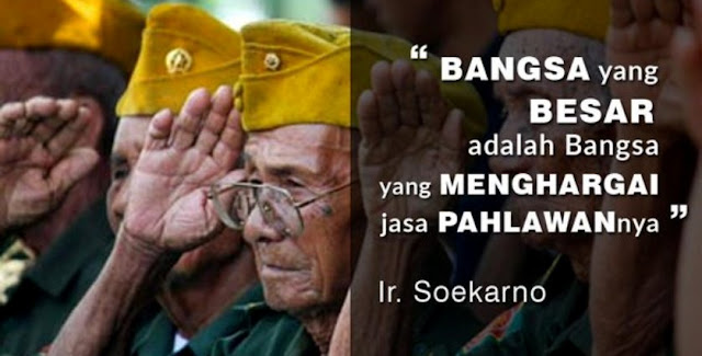 Lihatlah Perbandingan Tunjangan Veteran Indonesia Dan Luar Negeri