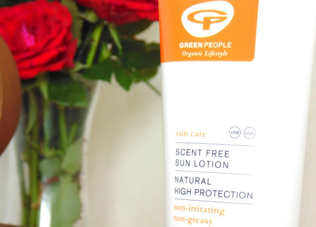 Green People Scent Free Sun Lotion & Lip Balm
