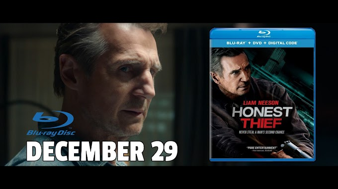 Honest Thief Starring Liam Neeson - Available on Blu-ray & DVD December 29 (Universal)