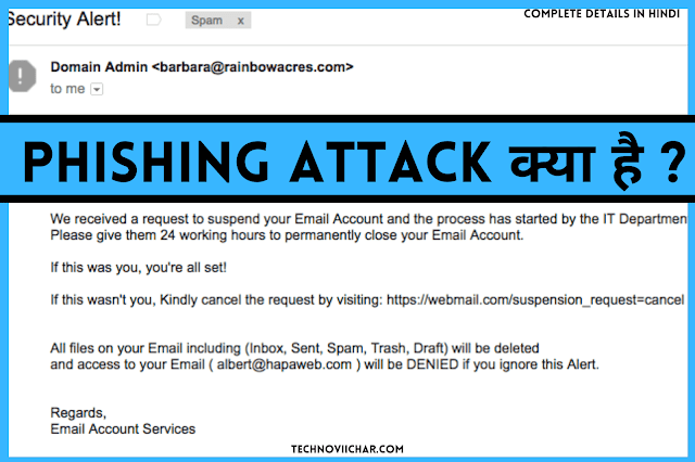 What is Phishing Attack and How to Prevent From Phishing Attack in Hindi